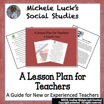A Lesson Plan for Teachers, New or Old (Experienced, that is!) Guidebook