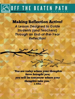 Self-Reflection at the end of a Calendar Year!