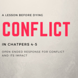 A Lesson before Dying Ch. 4-5 Conflict