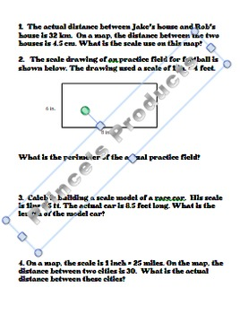 A Lesson in Scale CCSS G.A.1