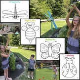 A Lesson in Symmetry: Flying Butterflies, Dragonflies, Bees & Ladybugs