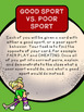 A Lesson on Being a Good Sport, Grades 2-3