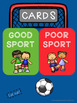 A Guidance Lesson on Being a Good Sport, Grades K-1