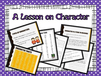 A Lesson on Character