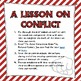 A Lesson on Conflict