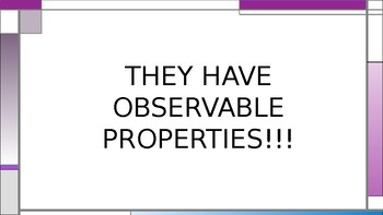 A Lesson on Observable Properties