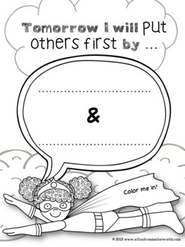 A Lesson on Putting Others First, Conflict Resolution, Grades K-1