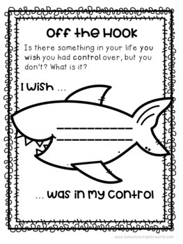 A Lesson on Things I Can and Can't Control, Grades 2-3