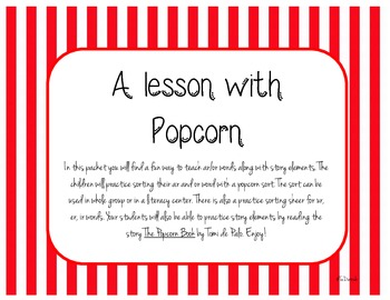 A Lesson with Popcorn