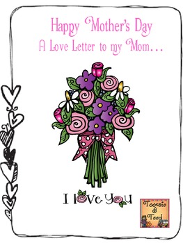 A Letter From My Heart...A Mother's Day Gift