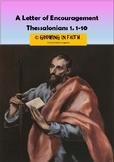 A Letter Of Encouragement: Thessalonians 1:1-10