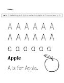 A Letter Trace WS