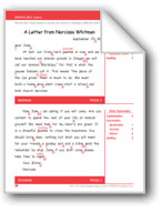 A Letter from Narcissa Whitman (Gr. 6+/Week 5)