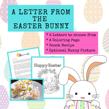 A Letter from the Easter Bunny - an Easter Bundle for Home