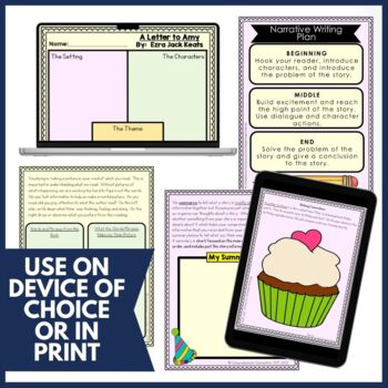 A Letter to Amy Activities