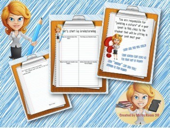 """A Letter to Next Year's Students - Fun """"End of the Year"""" Activity"""
