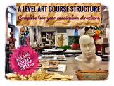 A Level Art Course Structure