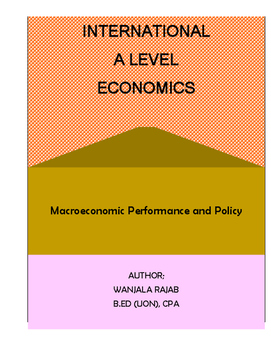 A Level Economics Unit 2: Macroeconomic Performance and & Policy(Full Notes)