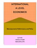 A Level Economics Unit 2: Macroeconomic Performance and &