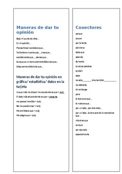 A Level Spanish Speaking Booklet