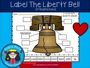 A+ Liberty Bell Labels