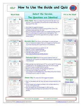 A Liberty's Kids ** Episode 01-20 - Worksheet, Ans Sheet, Four Quizzes Bundle