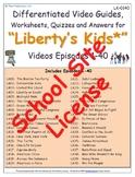 1 SSL- SCHOOL SITE LICENSE - Liberty's Kids ** - Episodes 01-40