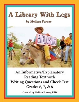 Nonfiction Reading and Questions Grades 6 - 8