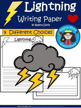 A+ Lightning ... Writing Paper
