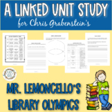 """A Linked Unit Study for Chris Grabenstein's """"Mr. Lemoncello's Library Olympics"""""""