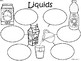 A+ Liquids (State of Matter) ...Three Graphic Organizers