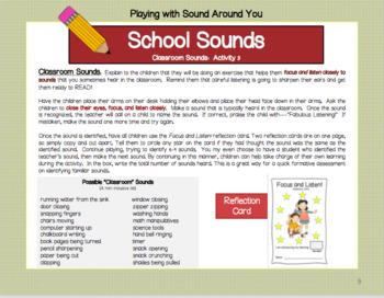 A Listening Activity: School Sounds