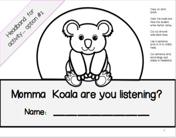 A Listening Activity to Prepare Early Learners for Phonological Awareness