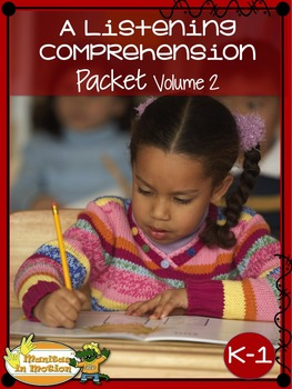 A Listening Comprehension Packet Vol.2 for K-1