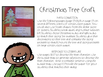 Listening Comprehension Unit For A Wish To Be A Christmas Tree