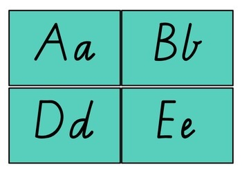A Literacy Taskboards Initial Sound Letters
