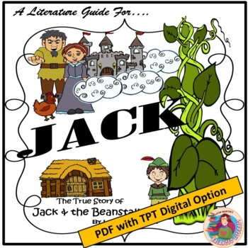 A Literature Guide for JACK by Liesl Shurtliff; created by Jean Martin