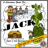A Literature Guide for JACK by Liesl Shurtliff; created by