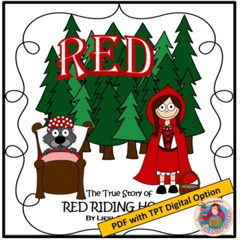 A Literature Guide for RED by Liesl Shurtliff; created by Jean Martin
