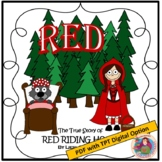 RED by Liesl Shurtliff; A PDF and TPT Digital Literature Guide