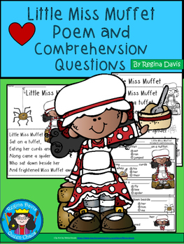 A+ Litlte Miss Muffet  Comprehension For Guided Reading