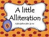 A Little Alliteration