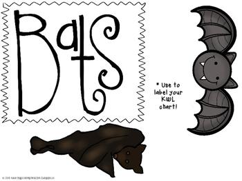 A Little Batty! A fiction and nonfiction unit all about bats!