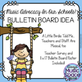 A Little Birdie Music In Our Schools Month Advocacy Bulletin Board