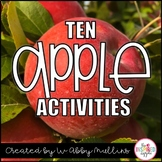 Apples Unit: Fall Activities for Kindergarten, First Grade