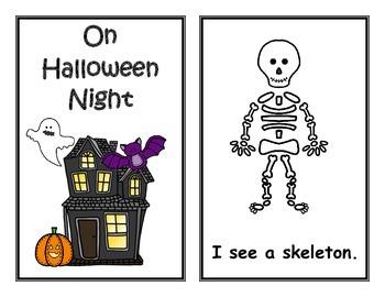 A Little Bit of Halloween... (Literacy Activities)