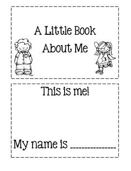 A Little Book About Me!