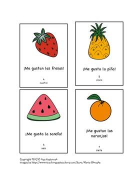 A Little Book in Spanish- Me Gustan Las Frutas