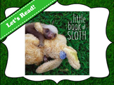 A Little Book of Sloth Vocabulary Visuals (for ELLs)