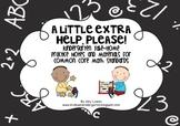 A Little Extra Help, Please! {Kindergarten Math Take-Home